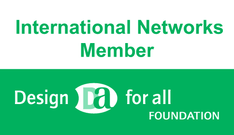 International Networks Member of the Design for all foundation